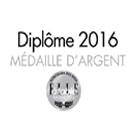 Médaille d'Argent - Concours des vins Elle à Table 2016